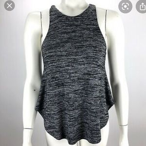 Aritzia Wilfred Free Racerback Grey Tank Top S
